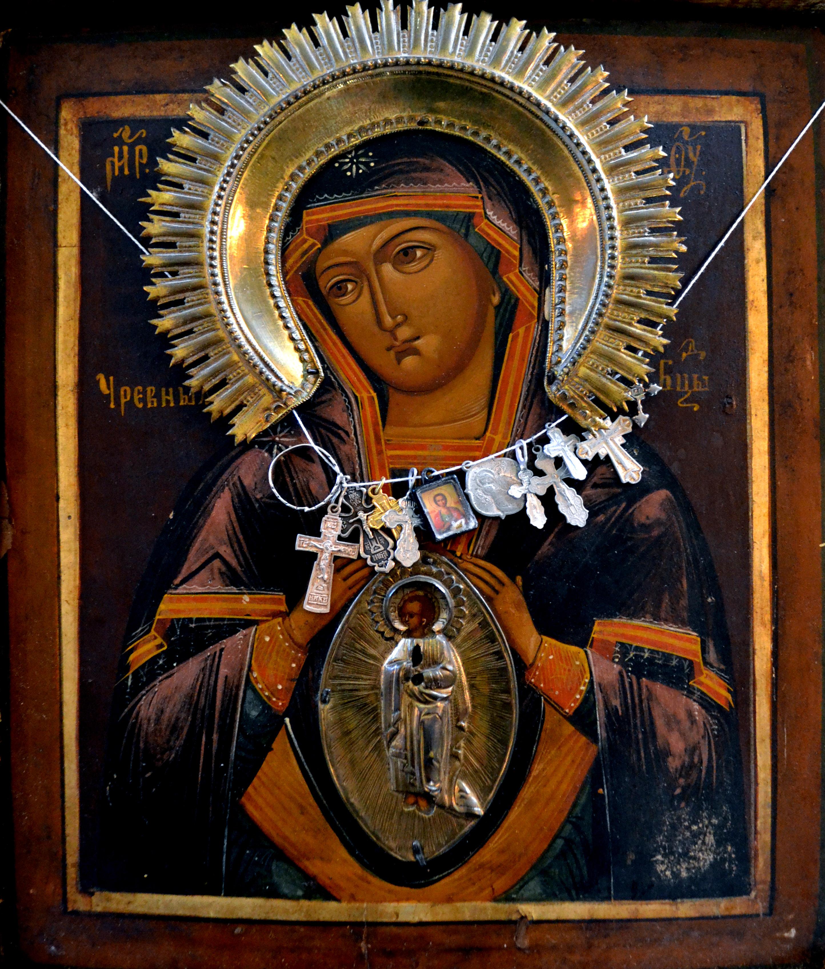 Чревная икона Божией Матери